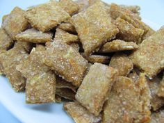 Apple Carrot Training Treats   1 cup Apple Sauce (sugar free)  1/2 cup grated Carrot (approximately one medium carrot)  1 3/4 cup Whole Wheat Flour  1/4 cup Oats  1/4 cup Wheat Germ