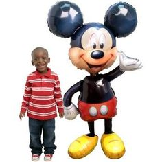 Anagram International Mickey Mouse Air Walker MultiColor >>> Click image to review more details.