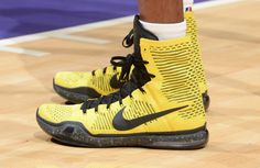 #SoleWatch: Kobe Bryant Had Two Pairs of Nikes for Opening Night