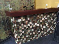 Dj booth homemade wood art