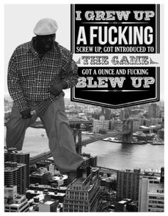 If you are a hip hop fan at some point you have used some Biggie Smalls quotes to make your point about something. His lyrics came straight from the street. Biggie Quotes, Notorious Biggie, Rapper Quotes, Quotes Quotes, Funny Quotes, Life Quotes, Gangsta Quotes, Hip Hop Quotes, Rap Lyrics