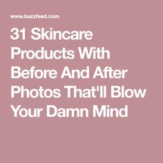 31 Skincare Products With Before And After Photos That'll Blow Your Damn Mind! #MzManerzBeautyBar |Be Inspirational ❥|Mz. Manerz: Being well dressed is a beautiful form of confidence, happiness & politeness