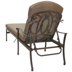 Solon Chaise Lounge Frame Finish: Antique Bronze - http://delanico.com/chaise-lounges/solon-chaise-lounge-frame-finish-antique-bronze-665179927/