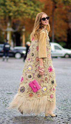 Items similar to Boho Long cardigan open Crochet Sleeveless Vest Hippie Gypsy style on Etsy Fashion Mode, Fashion Week, Look Fashion, Paris Fashion, Hippie Fashion, 2000s Fashion, Holiday Fashion, Pull Crochet, Crochet Coat