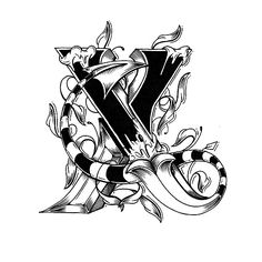 Hand Drawn Love Letter Alphabet | Abduzeedo Design Inspiration & Tutorials