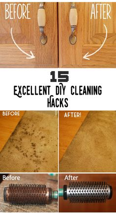 Top 15 Excellent DIY Cleaning Hacks