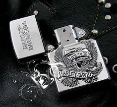 Harley Davidson Eagle Zippo Limited Edition Zippo Limited Edition, Zippo Harley Davidson, Vintage Cigarette Case, Zippo Lighter, Body Mods, Eagle, Fire, Tattoo, Knives
