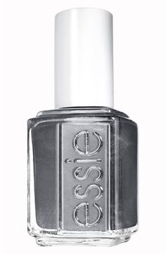 Essie Cashmere Bathrobe Nail Lacquer | a true flannel grey.