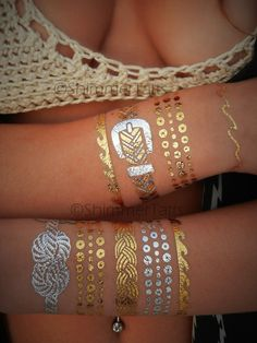 Nautical Jewelry NAUTICAL TEMPORARY TATTOO by ShimmerTatts. Click & see! Coupon code PIN10 saves you 10% right now!