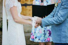 wedding ceremony - photo by Lara Hotz https://ruffledblog.com/whimsical-bohemian-wedding-in-australia