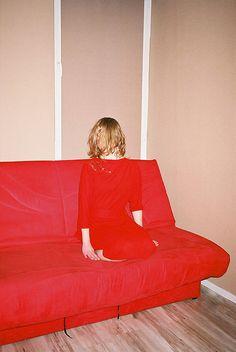 Body hidden in red...  by Hrabina von Tup Tup, via Flickr