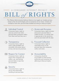 A Consumer Internet Privacy Bill of Rights