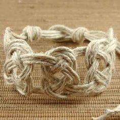 Pretzel Knot Hemp Jewelry