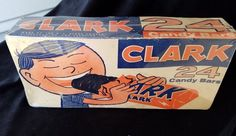 Old Advertising Candy Box Clark Candy Box DL Clark Co Pittsburgh Evanston IL