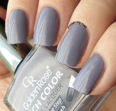 Golden Rose - Rich Color 102 #nails #grey #nailpolish #goldenrose