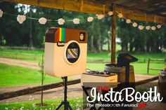 The Instabooth Photobooth offers Instant & Hashtag Printing with a range of backdrops for Weddings, Birthdays, Corporate Events in Durban & KZN.
