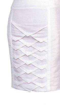Super origami fashion fabric manipulation white dress ideas Source by claricebrito dresses ideas Textile Manipulation, Fabric Manipulation Techniques, Fabric Manipulation Tutorial, Fashion Sewing, Fashion Fabric, Diy Fashion, Dress Fashion, Fashion Women, Fashion Ideas