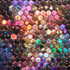 1305 one inch paper circles, hand punched and individually covered in epoxy stickers. Art Boards, Eyeshadow, Dots, Paper, Stitches, Eye Shadow, The Dot, Eye Shadows, Polka Dots