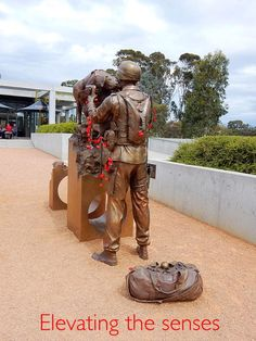 This memorial is so real, we even see Herbie's ball. It is in the forecourt of Poppy's restaurant. Aviation Magazine, Aviation Industry, Houses Of Parliament, New Zealand, Combat Boots, Photograph, Public, Australia, Restaurant