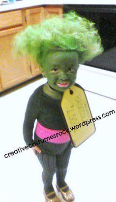 Broccoli-1 ... DIY Creative Costumes