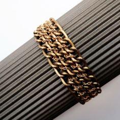 Braided Chain Bracelet | AllFreeJewelryMaking.com
