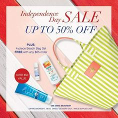 Independence Day Weekend AVON Online Shopping Sale!
