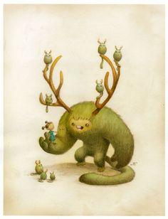 Forest Spirits | Jake Parker