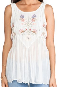Free People In The Free World Top in Ivory
