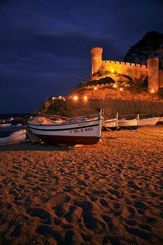 Un dels meus llocs preferits de la meva infantesa. Tossa de Mar, Costa Brava (Catalunya -  Catalonia) #Europa
