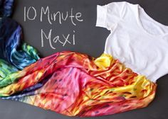 Tee Maxi - 10 Summer Perfect DIY Maxi Dresses … |Lifestyle