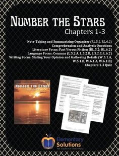number the stars literature guide