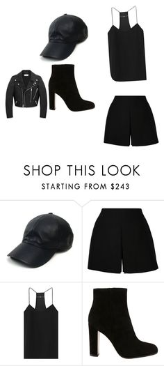 """who dis Chick"" by feedbacker1 ❤ liked on Polyvore featuring Vianel, Valentino, TIBI, Gianvito Rossi and Yves Saint Laurent"