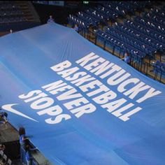 Kentucky basketball never stops