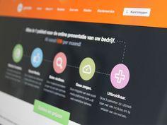 Header of Homepage