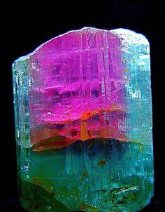 Watermelon tourmaline crystal, 4.5 cm, Brazil