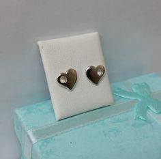 Herz Ohrstecker Ohrringe Herzchen 925 Silber KO138 von myduttel