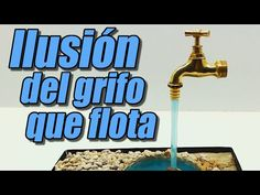 Floating tap illusion, how it's done Youtube, Diy, Feng Shui, Gardens, Pot Filler, Creativity, Designer Fonts, Mariana, Homemade Water Fountains