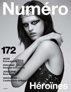 Cover Story: Sarah Brannon by Greg Kadel in a Saint Laurent by Hedi Slimane dress