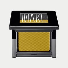 Matte Finish Eyeshadow in Palermo // A marigold yellow with a green undertone
