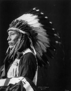 "thebigkelu: ""Afraid of Eagle - Lakota Sioux - Rinehart - 1898 """