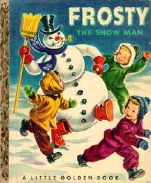 Vintage Little Golden Book Frosty the Snowman. Loved all those Little Golden books from my childhood. Christmas Past, Christmas Books, Vintage Christmas, 1980s Christmas, Christmas Scenes, Christmas Decor, My Childhood Memories, Childhood Toys, School Memories