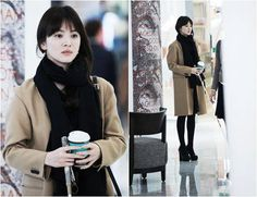 Song Hye Kyo in That Winter, the wind blows!
