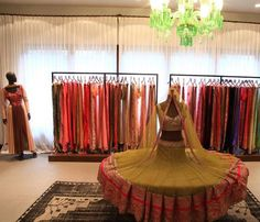 Manish Malhotra store! I just want all of these!!!!!