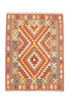 Turkish Hand Woven Wool Kilim