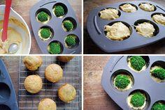 Muffins de brocoli