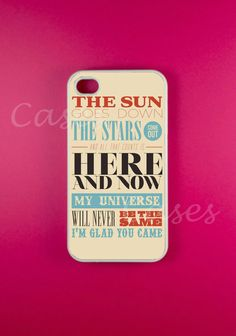 The Wanted phone case <3