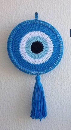 Crochet Wall Art, Crochet Letters, Crochet Wall Hangings, Crochet Home, Crochet Crafts, Yarn Crafts, Crochet Square Patterns, Baby Knitting Patterns, Crochet Designs