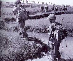 French Foreign Legion Parachute Battalion ~ Vietnam War