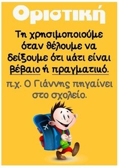 Greek Language, Speech And Language, Letter Activities, Educational Activities, Teaching Kids, Kids Learning, Greek Phrases, Grammar Posters, Learn Greek