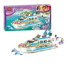 (49.89$)  Know more - http://aivx4.worlditems.win/all/product.php?id=32796439917 - 2017 New Bela 10172 Friends Series Girls Large Yacht Club Cruise Ships Building Blocks Compatible With Legoe brinquedos